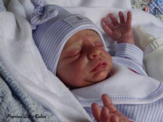 Precious Little Babies Reborn Newborn Baby Boy from Brayden by Nicole Russell