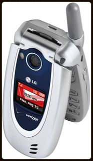 LG VX5200 Flip Cell Phone Verizon Cellular Camera Clean No Contract CDMA GPS 0822248005032