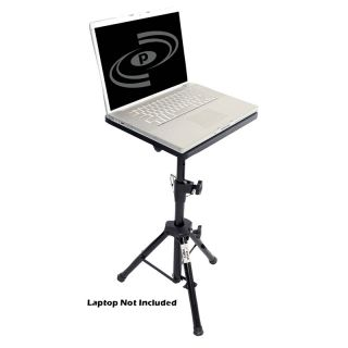 Pyle Pro PLPTS4 Pro DJ Laptop Tripod Adjustable Stand for Notebook Computer