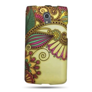 Pantech Discover P9090 Case Antique Flower Faceplate Hard Cover at T