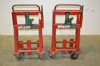 Rol A Lift Safe Moving Dollies M6 6000lb Capacity Hydraulic Lift Rolalift Dolly