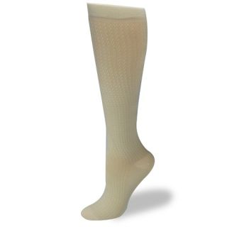 Dr Scholl's Women's Socks Graduated Compression Knee High Khaki 1P