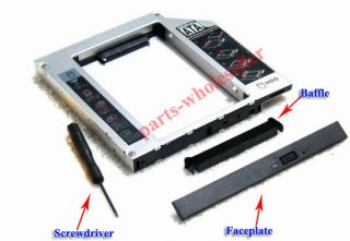 SATA HDD Hard Drive Caddy Adapter for Asus K43SJ replace DVDRAM GT34N