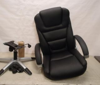 boss italian leather high back executive chair amazon com boss