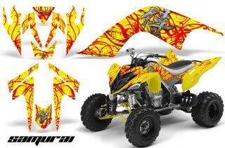 Yamaha Raptor 700 Graphics Kit Decals Stickers Creatorx Samurai Ry