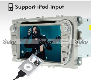 """7"""" Car DVD GPS Radio Navigation for Ford Focus Mondeo s Max Free Map Camera"""