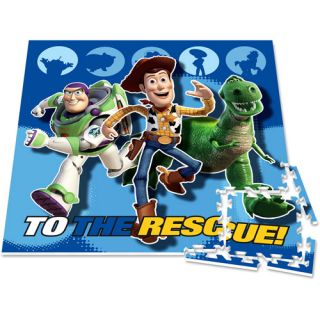 Disney Toy Story Foam 4ft Floor Play Mat 12P Puzzle Rug
