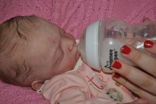 So Real Reborn Baby Girl Sold Out L E Lilian by Gudrun Legler 515 of 1111