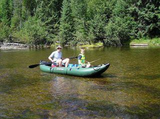 13 ft Heavy Duty Saturn Inflatable Pro Angler Series Fishing Kayak FK396