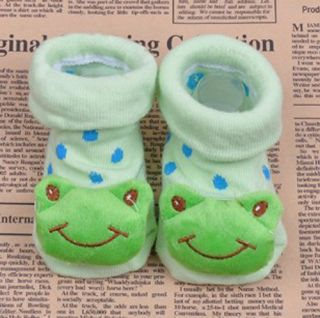 Newborn Baby Socks Anti Slip Socks Animal Cartoon Warm Socks Unisex Shoes Boots