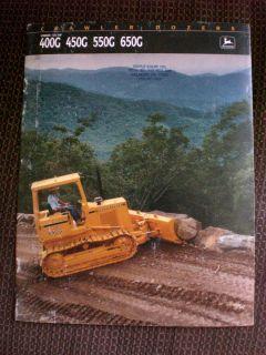 John Deere Crawler Dozer 400G 450G 550G 650G