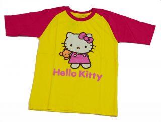 "New Baby Toddler Kids Girls T Shirt Clothes Pink ""Kitty"" Summer Softball Design"