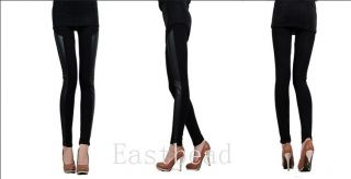 Hot Sexy Ladies Girls' Faux Leather Leggings Pants Black Trouser Tights 9 Styles