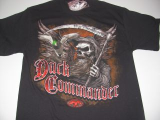 "New Duck Commander Duck Dynasty Shirt ""Fear The Beard"" Size Medium Mens"