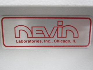 New Nevin 360 Dental Medical Lab Exhaust Filtered Monomer Fume Hood