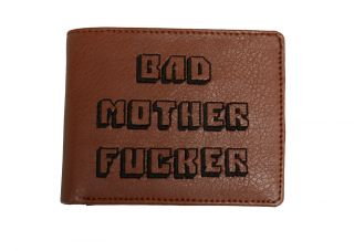 Pulp Fiction Bad Mother F cker Wallet MOFO Embroidered Fast Shipping