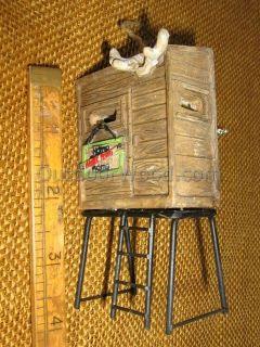 Cannon Falls Deer Hunter Stand Blind Cabin Ornament
