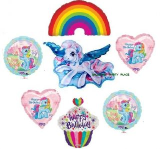 My Little Pony Rainbow Dash Party Supplies Balloons New