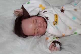 Sweet Pea Babie's Nursery Reborn Doll Cute Little Easton by Michelle Fagan