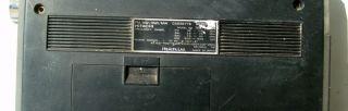 Vintage Hitachi Transistor trk 12555 Multiband Radio Cassette Record Player