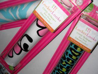 New Locker Lookz Wallpaper Customized Patterns 20 Magnets Leopard Zebra Flower