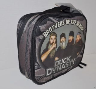 New A E Duck Dynasty Insulated Lunch Box Bag Back to School 2013 Kids Youth Boys