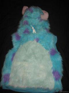 Disney Monsters Inc Plush Sully Halloween Costume 4 5 6