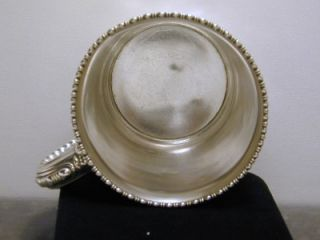 Sweet Antique Gorham Sterling Silver Child Baby Cup Monogrammed Heavy Vintage