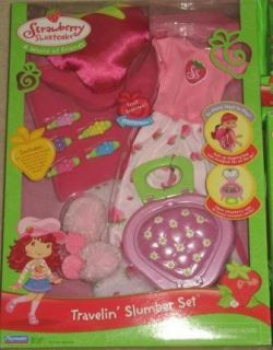 New Strawberry Shortcake Ballet Slumber Bead Sets Lot