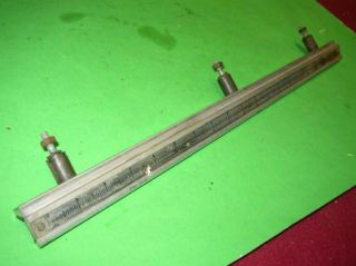 Vintage Craftsman Table Saw Front Gear Rail 113 29943 11C