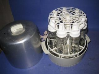 Hankscraft 200B Automatic Electric 8  Glass Baby Bottle vint Sterilizer 71T