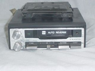 Sanyo Cassette Player Under Dash Car Stereo Radio