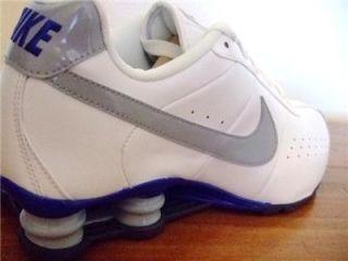 Original Mens Nike Shox Classic Running Trainers UK Size 9 White 1 4 0