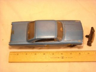 """Vintage AMT """"Authentic Model Turnpike"""" TR 190 1963 Ford Galaxy Slot Car"""