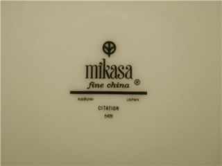 Mikasa Citation 17 Pieces Fine China Dinnerware 5428 Narumi Japan