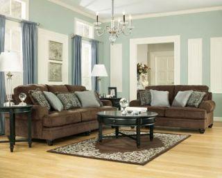 living room ashley bradington truffle sofa loveseat