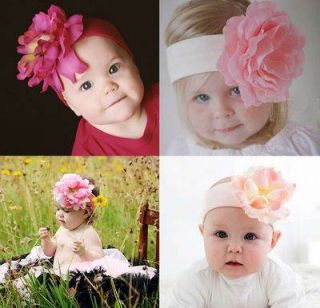 Beautiful Boutique Quality Stunning Large Flower Headband for Babies Girls Gift