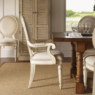 Lexington Twilight Bay 6 Piece Arm Side Dining Chair Set Antique Linen Save 25