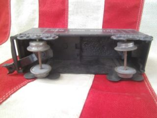 Marx Plastic O Scale New York Central Coal Tender Car Model Train Toy