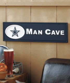 NFL Dallas Cowboys Man Cave Wooden Plaque Football Fan Sports Game Lover