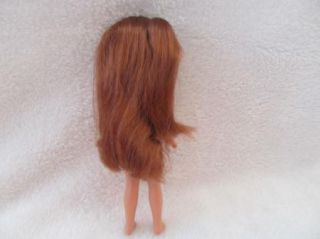 Barbie Stacy Doll Red Long Hair Violet Eyes Purple Earrings New