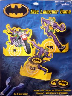 New Batman Party Game Disc Launcher Game Super Hero Birthday Idea