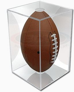 BallQube Full Size Football Display Case Cube w UV Protection Brand New