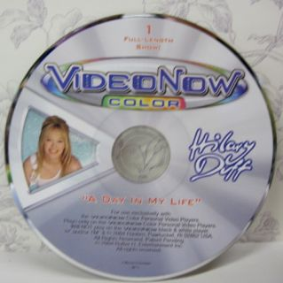 Video Now Color PVD Hilary Duff A Day in My Life 32C