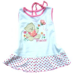 1 Item Baby Girl Kids Cotton Dress Clothes 0 3M A03