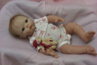 Ashton Drake Reborn All Vinyl Dominique Baby Doll by Cheryl Hill