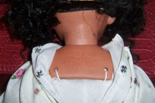 Soul Kidz Paradise Galleries Kelly Rupert Black African American Baby Shay Doll