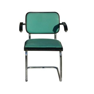 Vintage Green Thonet Marcel Breuer Arm Chair Enron