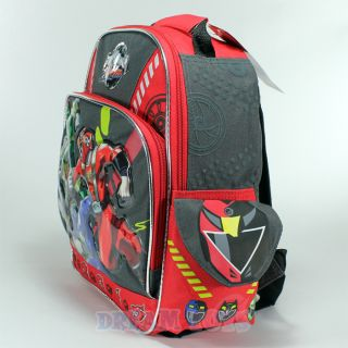 """12"""" Power Rangers RPM Small Toddler Backpack Book Bag"""