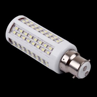 3528 100 120V B22 5 5W 112 LEDs White Warm White LED Corn Light Bulb Lamp